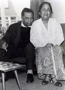 Opa Soleman Nanlohy en oma Martha Kasinem- Nanlohy
